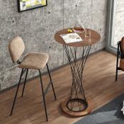 Bar Tables & Bar Stools (2)