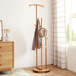 Sato Solid Wood Coat Stand
