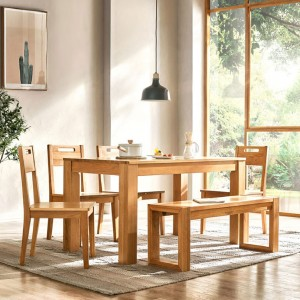 Asher Dining Set of 4 With Bench