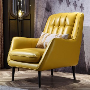 Zahara Leather Armchair