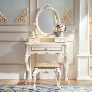 Elise Dressing Table + Dressing Stool Set